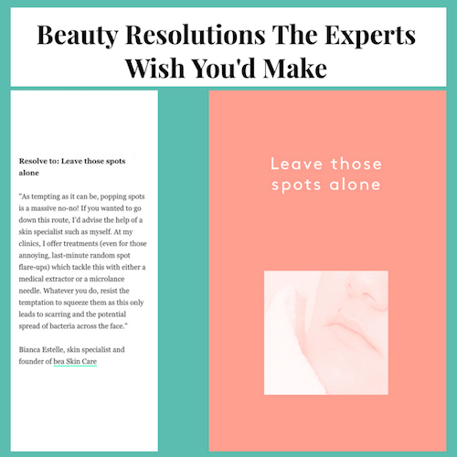 Beauty Resolutions The Experts Wish You