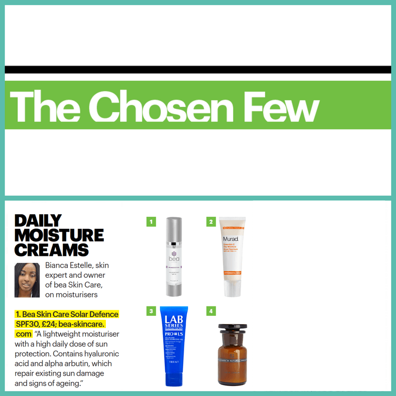 celebrity skincare secrets shortlist magazine