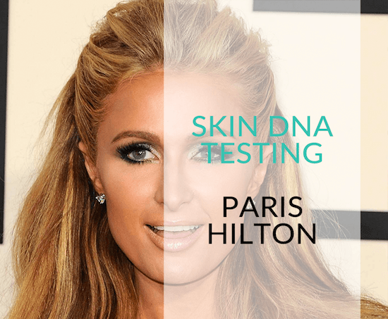 paris hilton celebrity skin care treatments