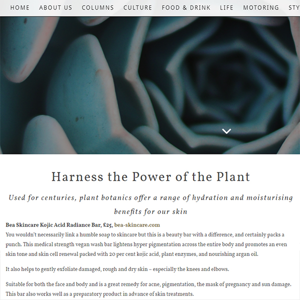 Harness the Power of the Plant