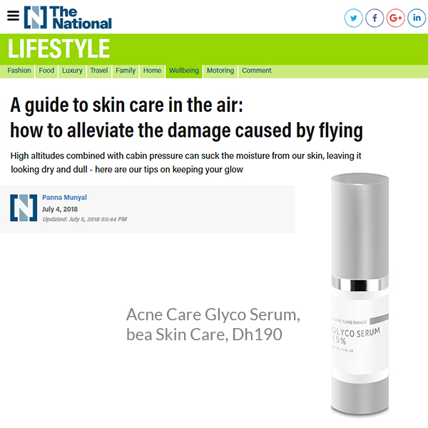 A guide to skin care in the air: how to alleviate the damage caused by flying