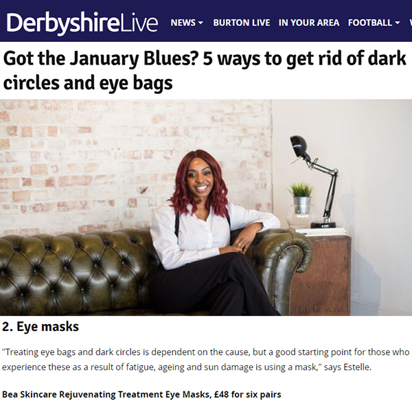 Got the January Blues? 5 ways to get rid of dark circles and eye bags