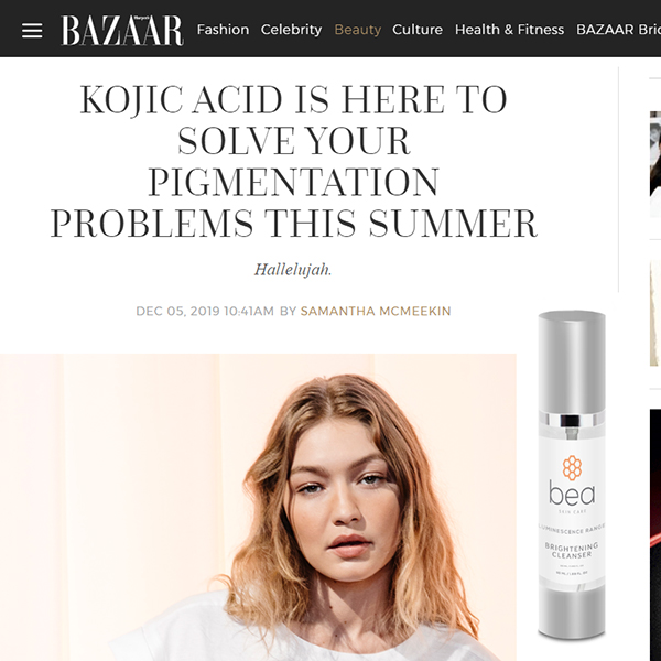 Kojic Acid Is Here To Solve Your Pigmentation Problems This Summer