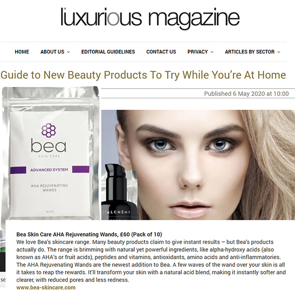 Guide to New Beauty Products to Try While You