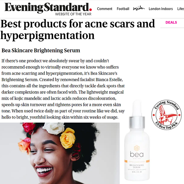 Best products for acne scars and hyperpigmentation