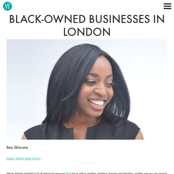 BLACK-OWNED BUSINESSES IN LONDON