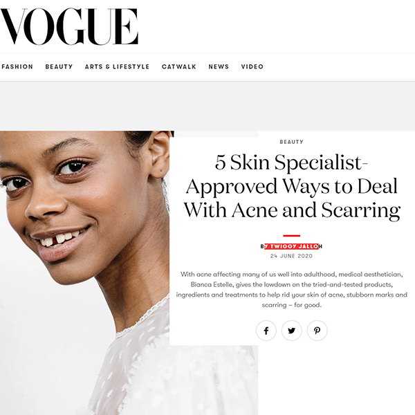 5 Skin Specialist-Approved Ways to Deal With Acne and Scarring