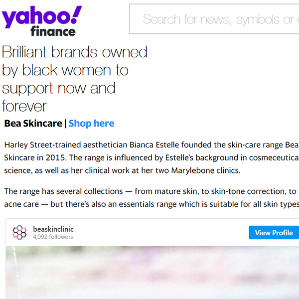Brilliant brands owned by black women to support now and forever