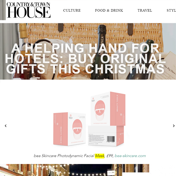 A HELPING HAND FOR HOTELS: BUY ORIGINAL GIFTS THIS CHRISTMAS