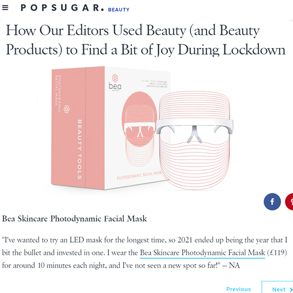 How Our Editors Used Beauty (and Beauty Products) to Find a Bit of Joy During Lockdown