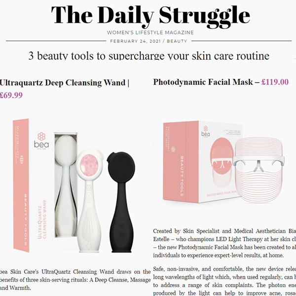 3 beauty tools to supercharge your skin care routine