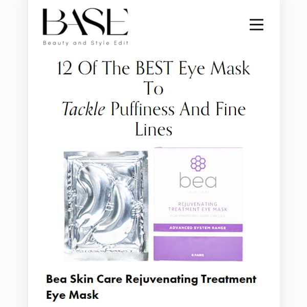 12 Of The BEST Eye Mask To Tackle Puffiness And Fine Lines