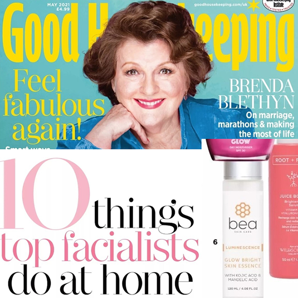 10 things top facialists do at home
