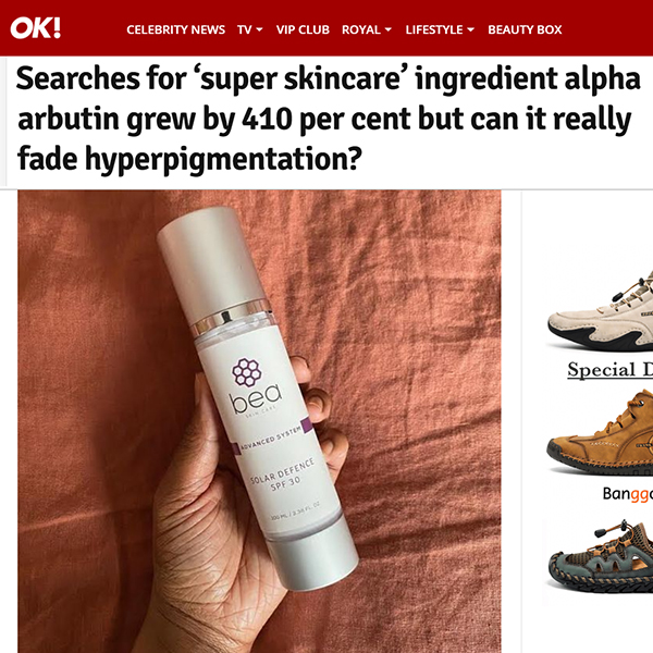 Searches for 'super skincare' ingredient alpha arbutin grew by 410 per cent but can it really fade hyperpigmentation?